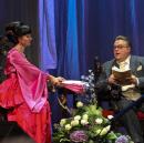 Нонна Гришаева и Алексей Колган