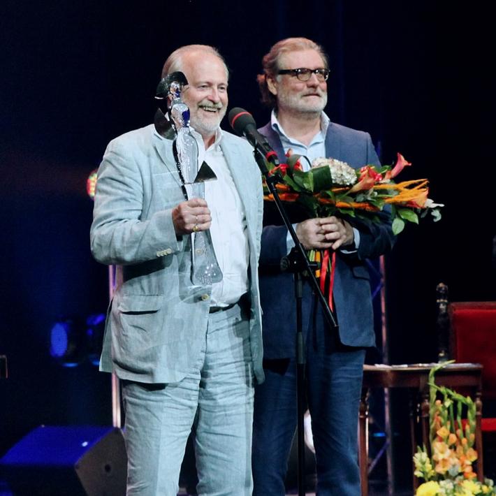 Церемония награждения лауреатов премии «Хрустальная Турандот» 2016