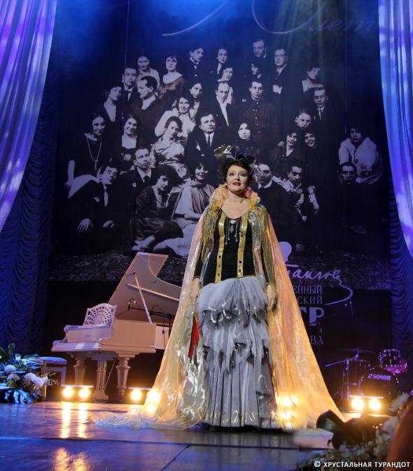 Традиционный «Хрустальный бал» Хрустальная Турандот в этот раз проводит совместно с театром Вахтангова