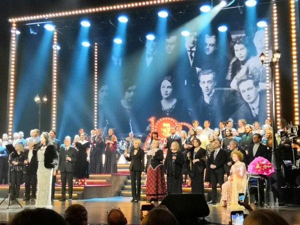 6 января в 18:10 смотрите на телеканале «Культура» Хрустальный бал в честь Евгения Вахтангова