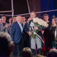 Хрустальный бал в честь 90-летия Ленкома. Фотограф А. Стернин