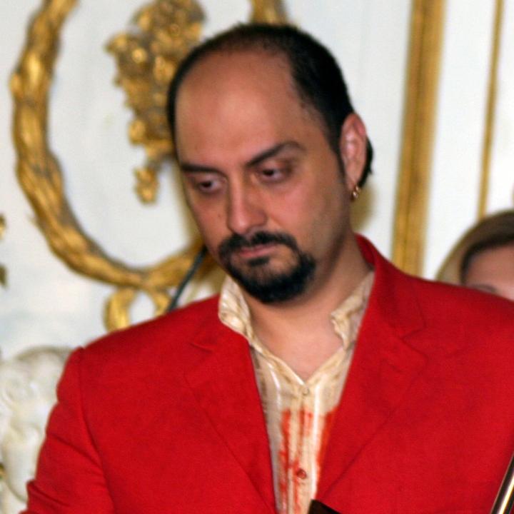 Кирилл Серебренников. Вручение театральной премии «Хрустальная Турандот» 2004, фото Екатерины Цветковой