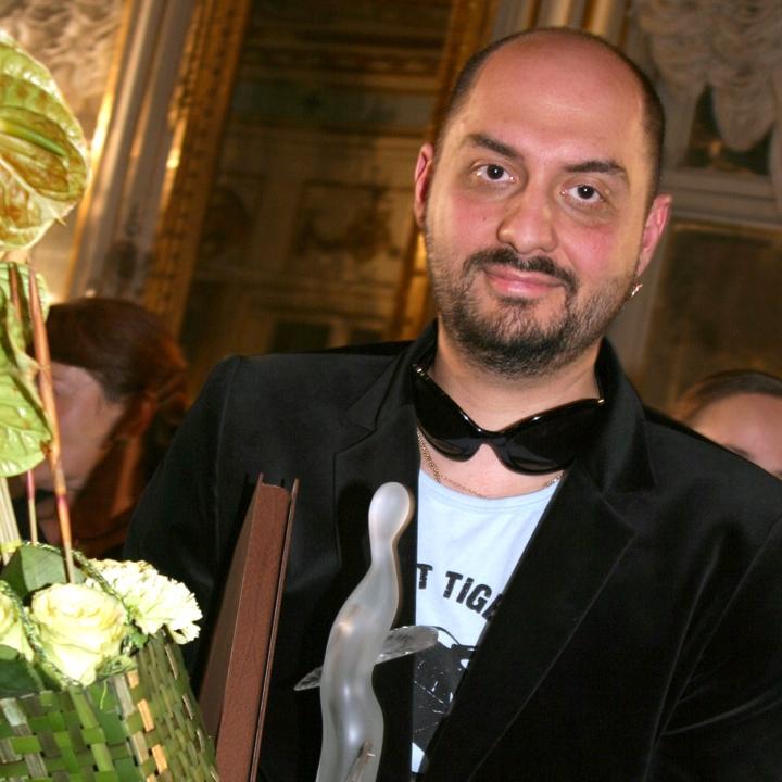 Кирилл Серебренников. Вручение театральной  премии «Хрустальная Турандот» 2005, фото Екатерины Цветковой