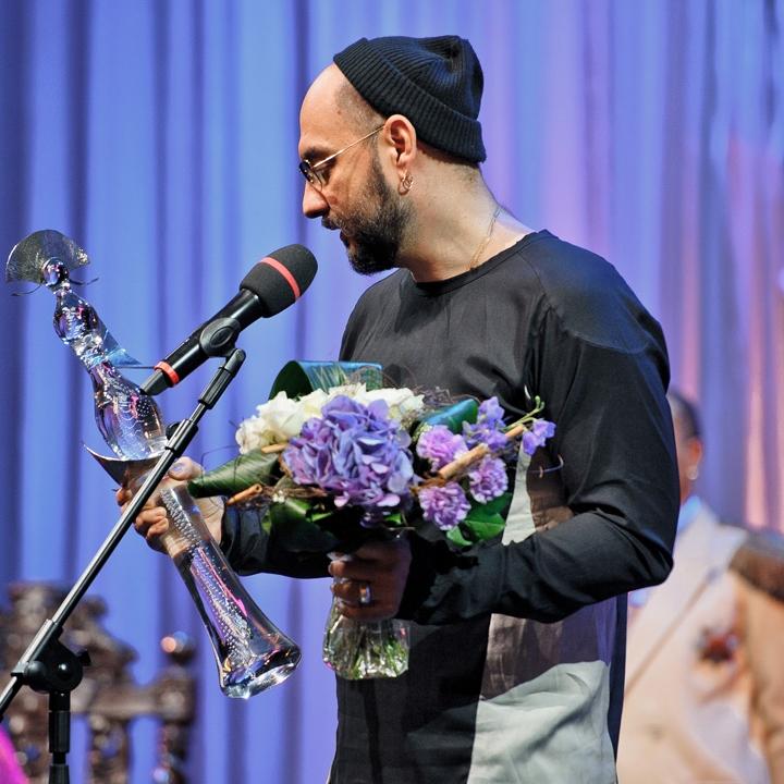 Кирилл Серебренников. Вручение театральной  премии «Хрустальная Турандот» 2014