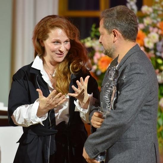 Стеклова и Писарев. XXVIII церемония награждения Первой театральной премии «Хрустальная Турандот»